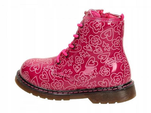 Glany, traperki buty zimowe dla dziewczynki r. 28