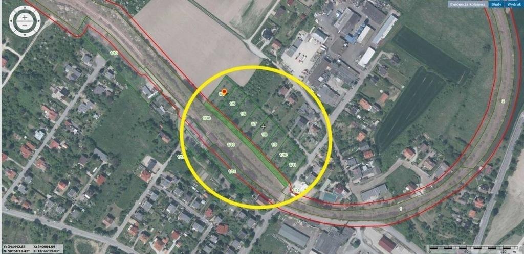 Działka, Sobótka (gm.), 11004 m²