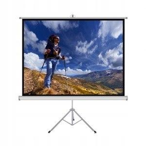 """Ekran ręczny na statywie 4:3 84"""" 170x127cm TS"""