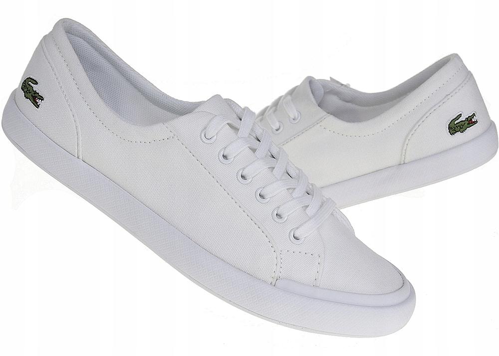 Lacoste Lancelle buty trampki damskie białe 37