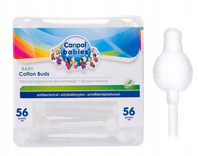 BEZPIECZNE patyczki higieniczne dla niemowląt 56