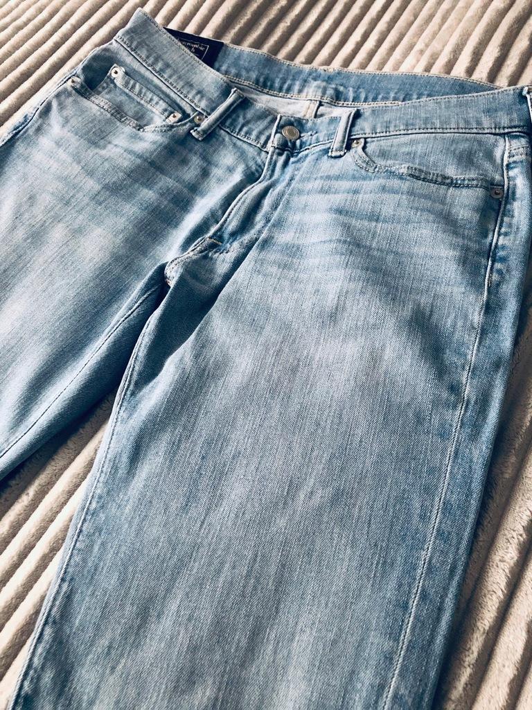 Jeansy spodnie Abercrombie & Fitch