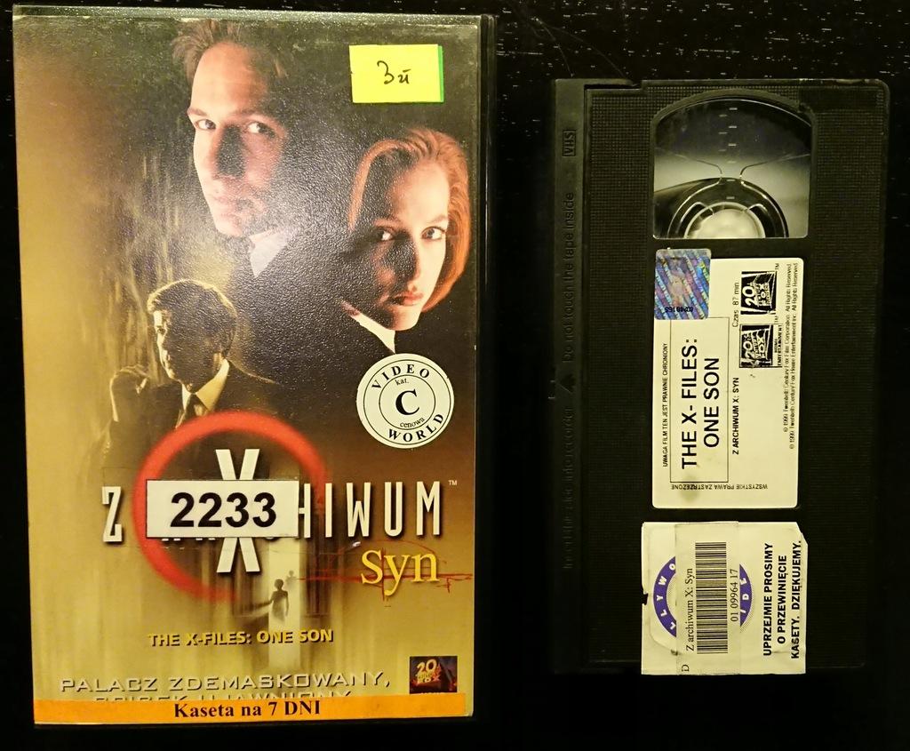 Z archiwum X - Syn   Kaseta VHS