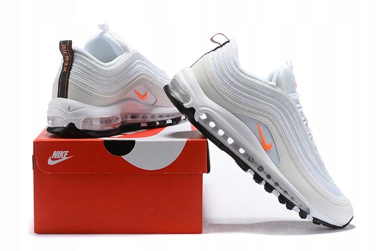 Nike air max 97 Biało Pomarańczowe r.40 45 7893029579