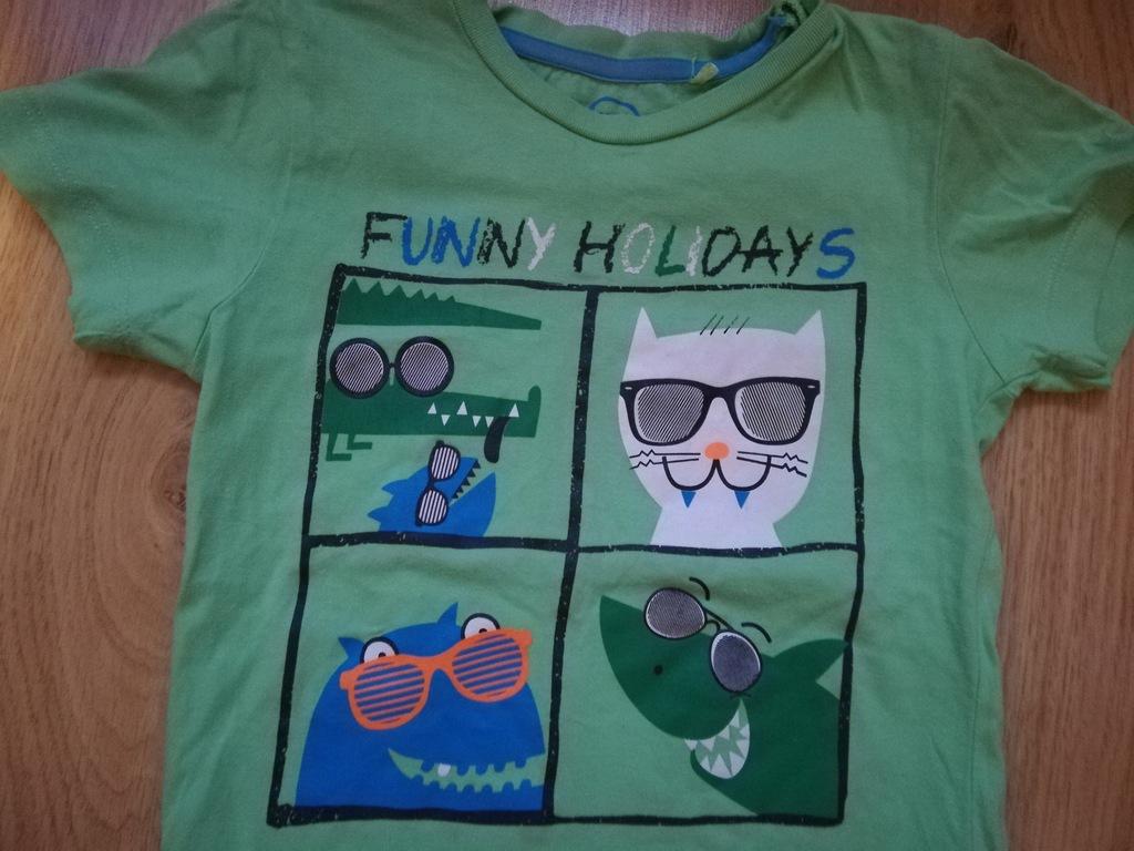 koszulka zielona Cool Club r.110