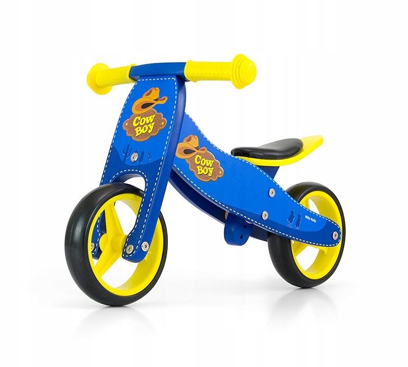 Rowerek biegowy Jake Blue Cowboy