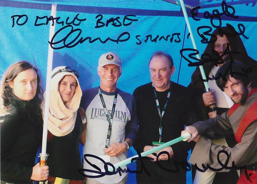 Star Wars: zdjęcie z autografami Gillard i Crowley