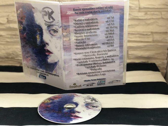 Płyta cd z nadrukiem +opakowanie