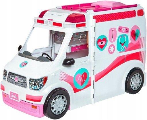 Mattel Barbie Karetka światło i dźwięk FRM19