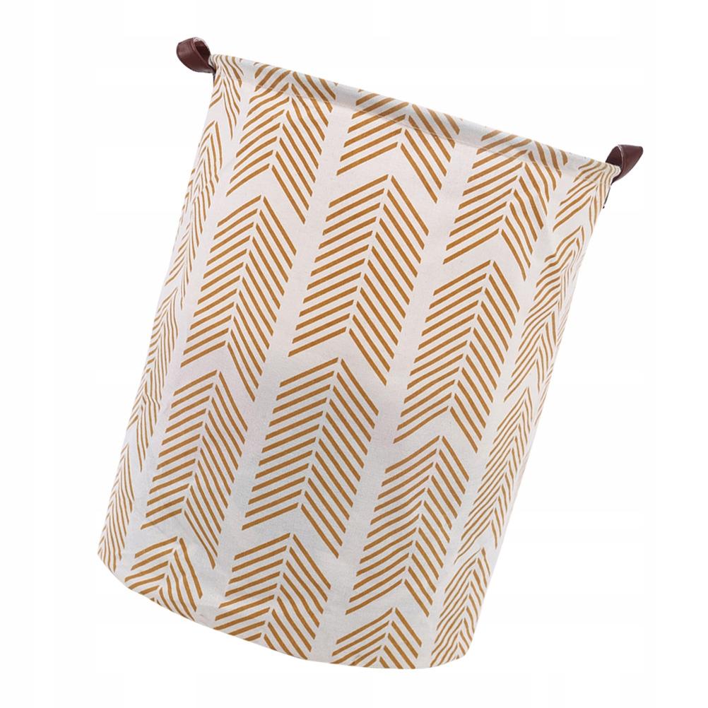 Cotton and Linen Laundry Basket Foldable Laundry H