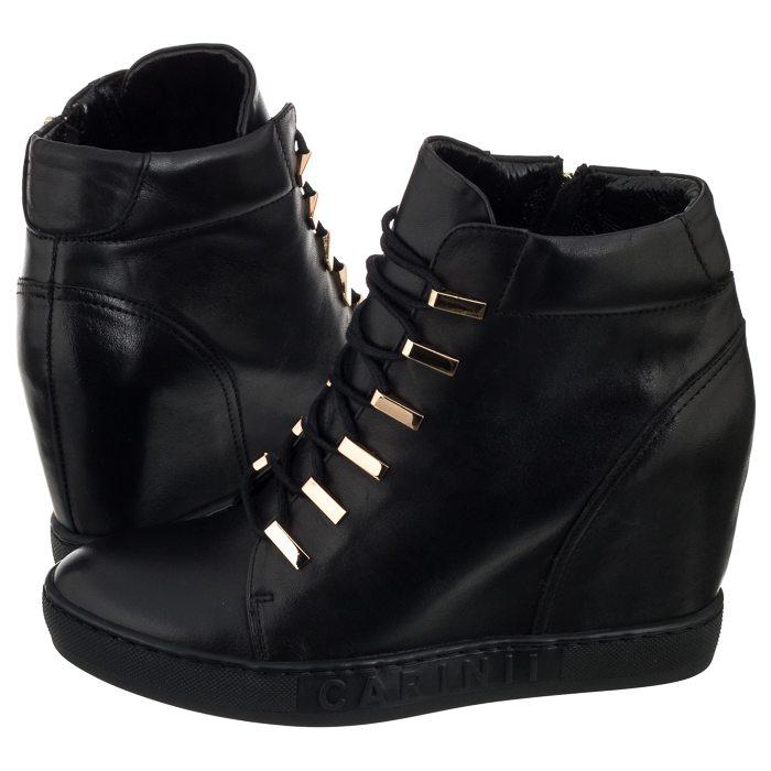 Buty Damskie Sneakersy Obuwie Carinii B4516 Czarne 8760870661 Oficjalne Archiwum Allegro