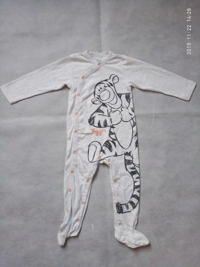 Pajac piżamka kombinezon rozm. 80 Cool Club nowy