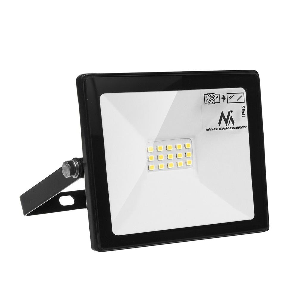 Naświetlacz LED slim 10W, 800lm Cold White (6000K)
