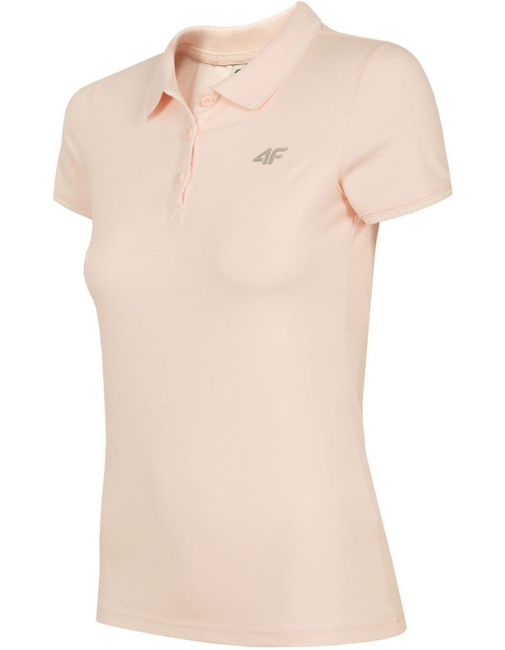 Koszulka polo t-shirt damska 4F TSD013 róż r. XL