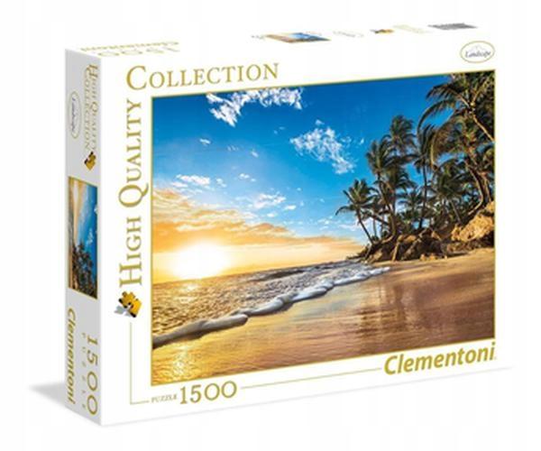 Puzzle 1500. Tropical Sunrise. Clementoni. 31681.