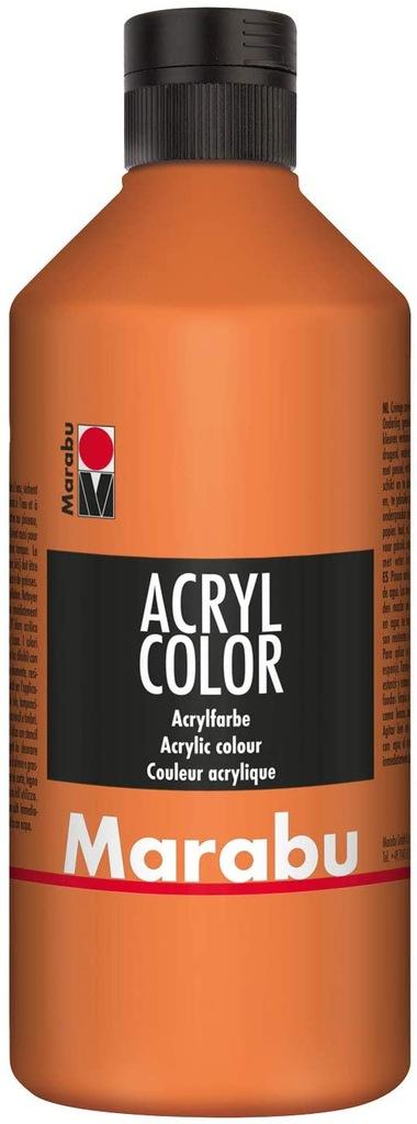 Marabu 12010075084 - akrylowa farba 500 ml, krem