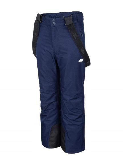 Spodnie 4F narciarskie dziewczęce granatowe r. 158