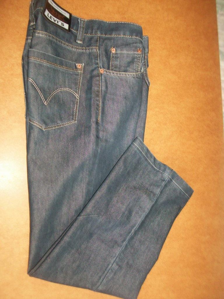 SPODNIE męskie LEVI STRAUSS 32 jeans cosual pas82