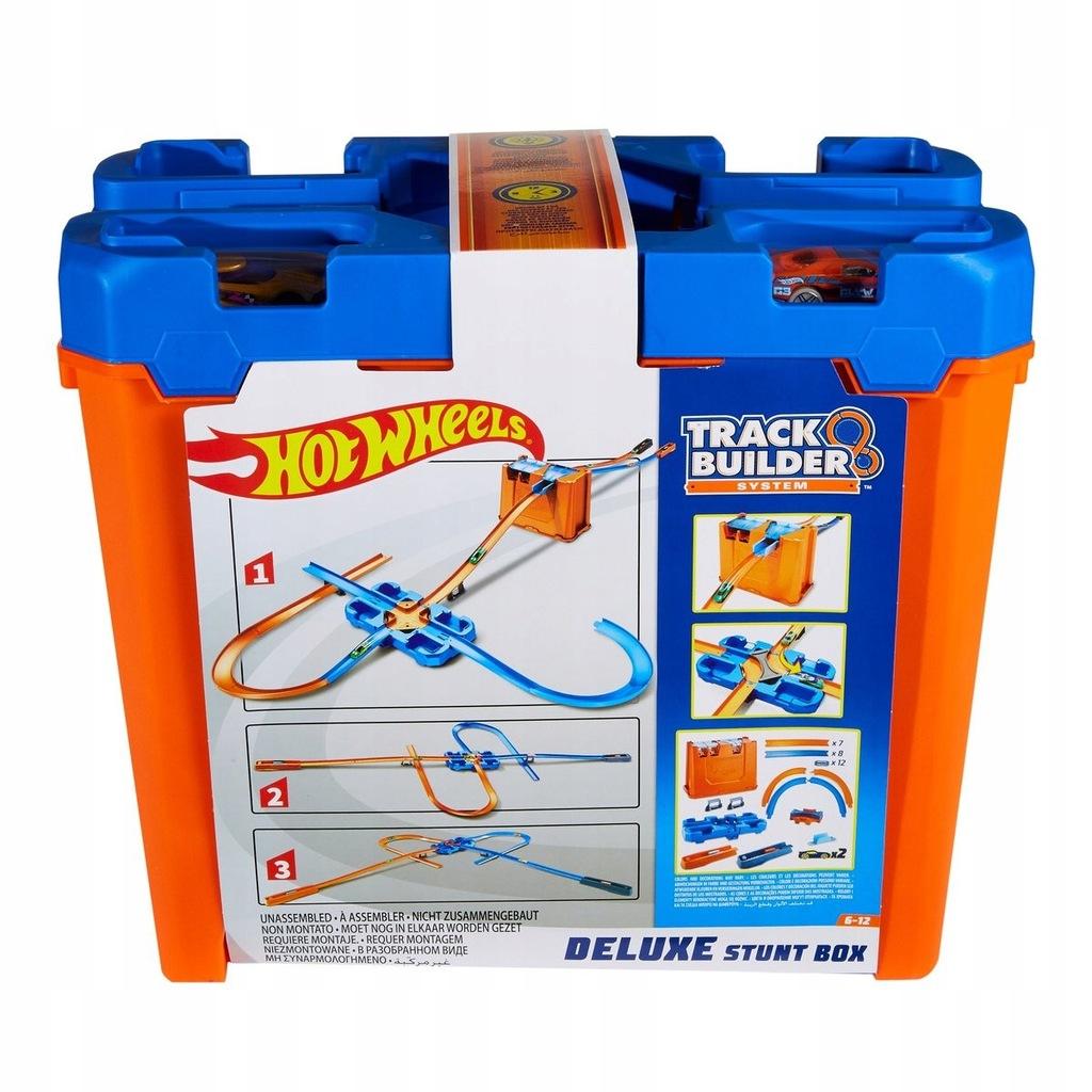 Hot Wheels, Track Builder, zestaw kaskaderski D...