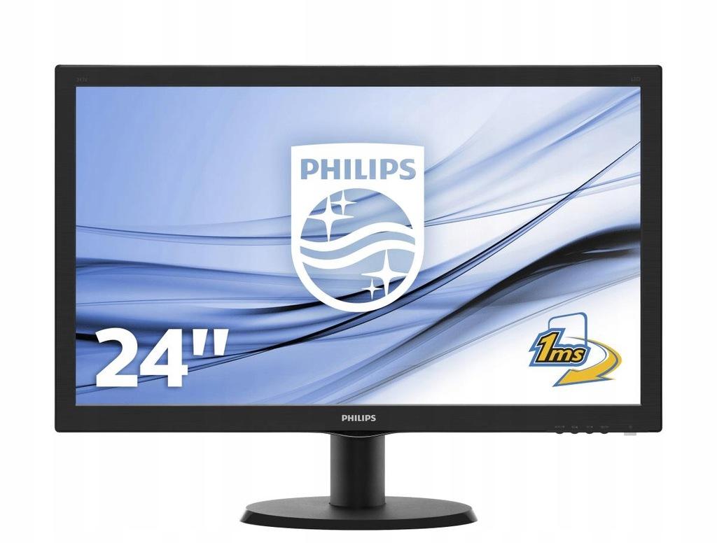 "Monitor Philips 243V5LHAB/00 (23,6""; LCD TFT,"