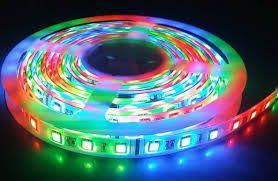Taśma LED RGB 5M + PILOT + ZASILACZ - WODOODPORNY