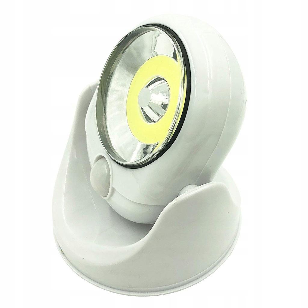 Bezprzewodowa lampa zewnętrzna z czujnikiem LED