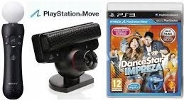 KONTROLER MOVE PS3 kam. EYE DanceStar Impreza PS3