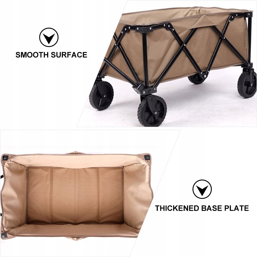Składany wózek wagonowy Składany piknik kempingowy