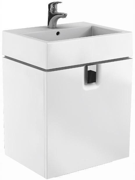 TWINS Szafka z drzwiami 60cm, biały połysk