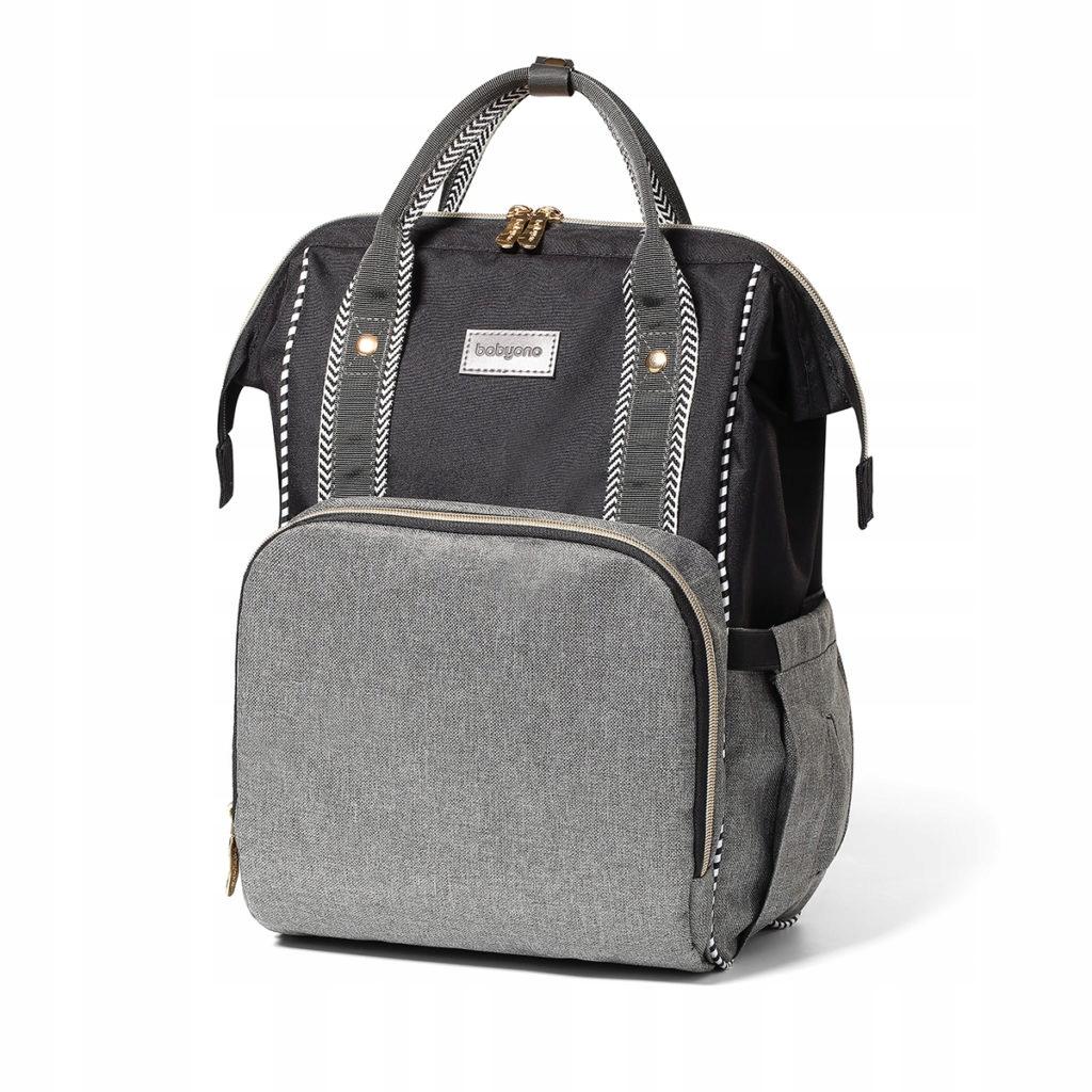 Plecak dla mamy - MODNA torba do wózka OSLO STYLE