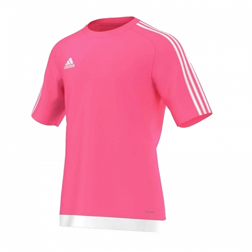 Koszulka ADIDAS ESTRO 15 różowa Junior 140 cm