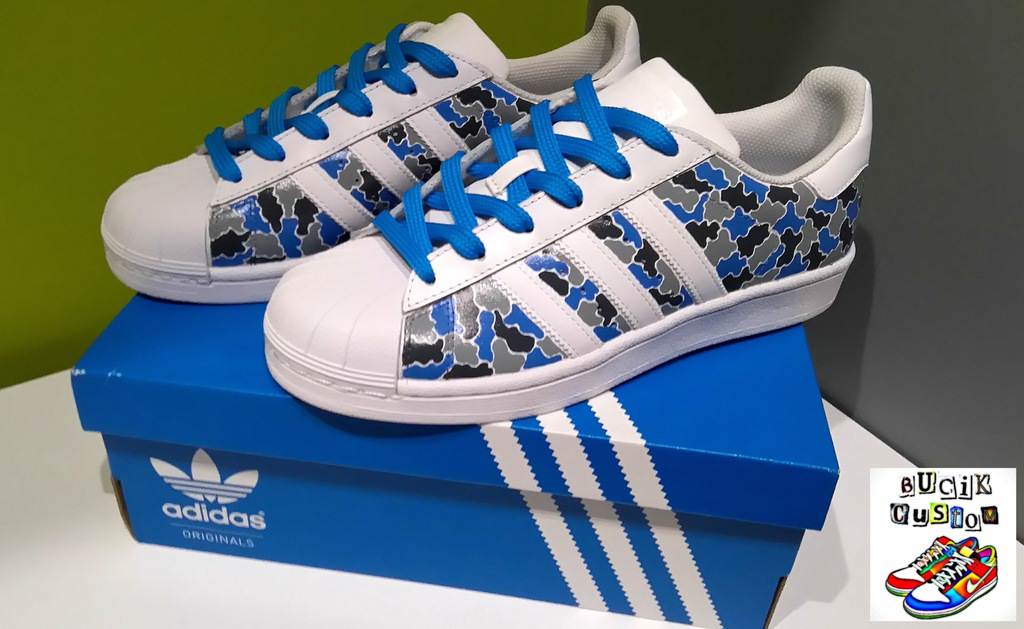 ADIDAS SUPERSTAR FOUNDATION custom rozm. 38 nowe