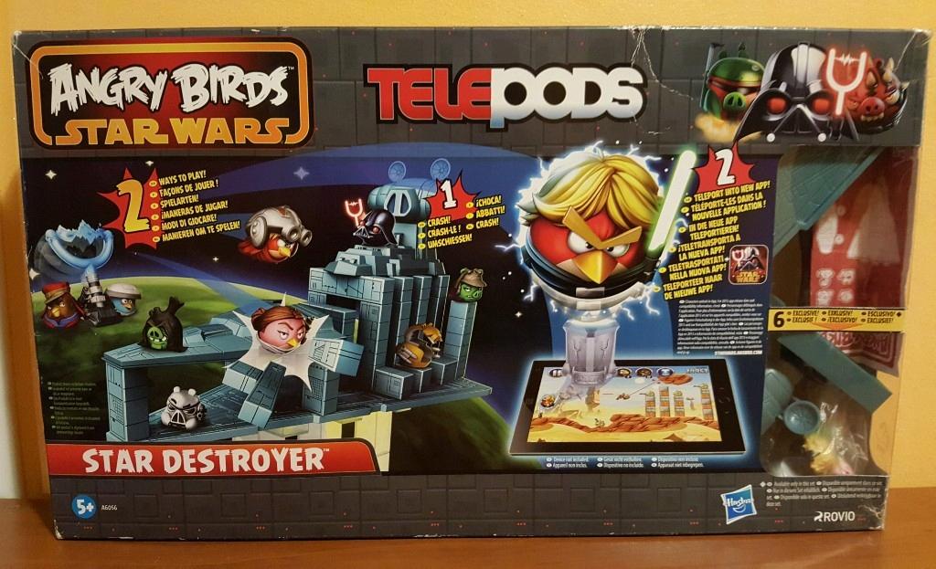 Angry Birds Star Wars Telepods Duzy Zestaw Gra 7802695509 Oficjalne Archiwum Allegro