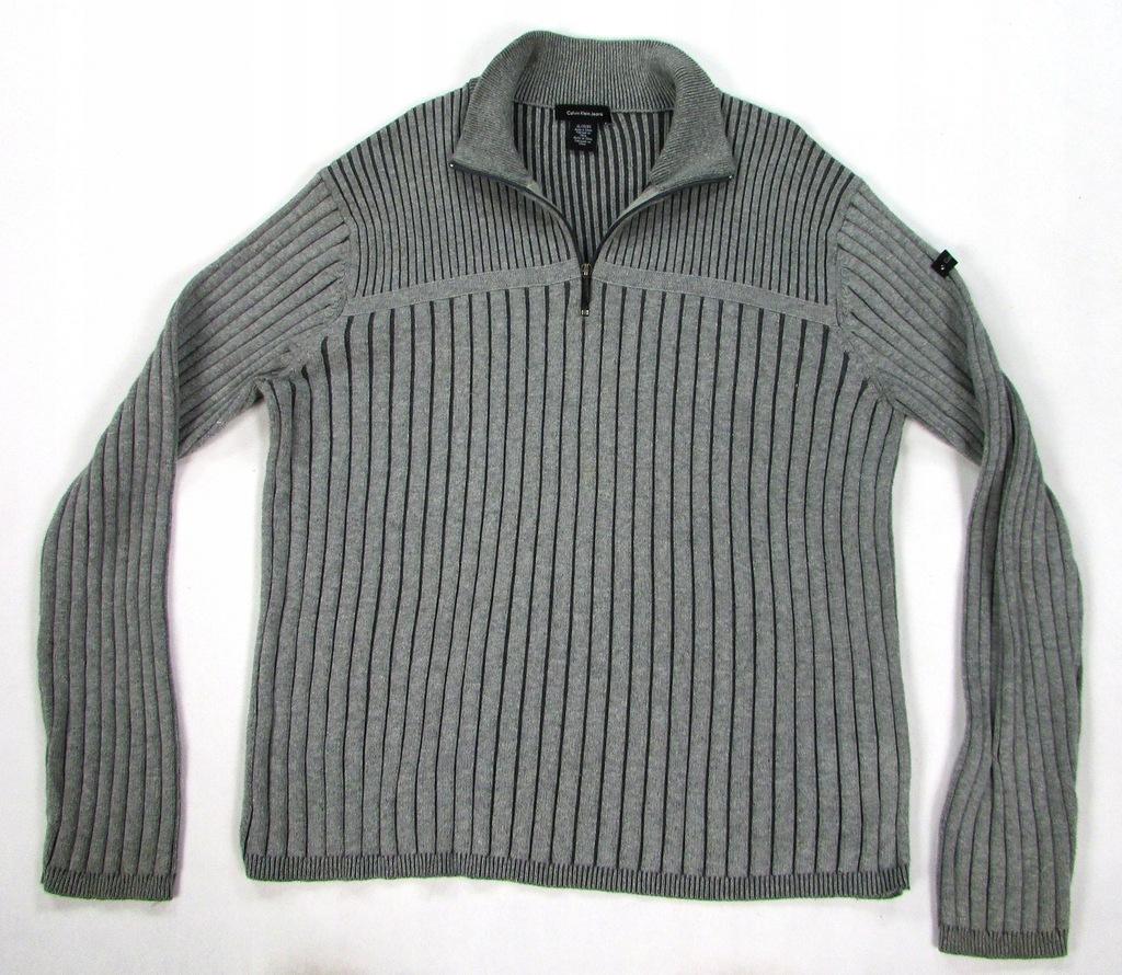 ** CALVIN KLEIN **__XL__Modny, super sweter