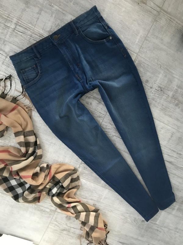 GEORGE___spodnie jeans treginsy rurki__152/158