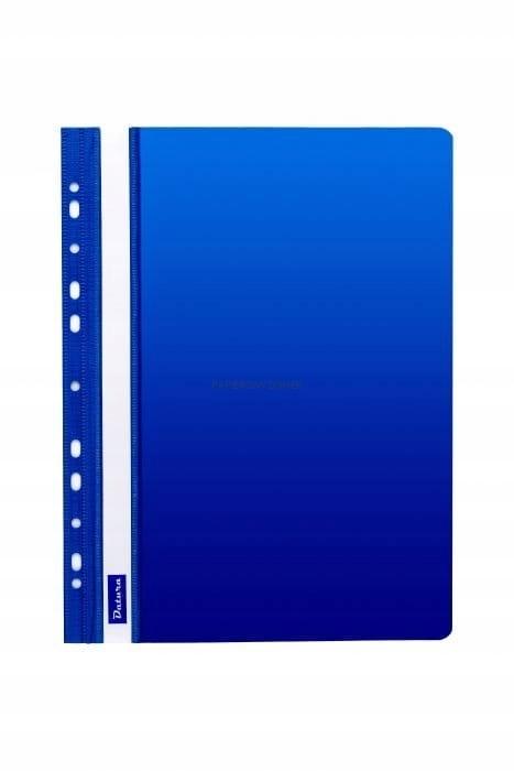 Skoroszyt DATURA A4 (10szt) twardy niebieski