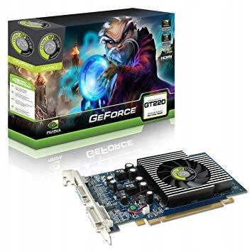 Geforce Geforce Gt220 1gb Pov Box 7867027300 Oficjalne Archiwum Allegro