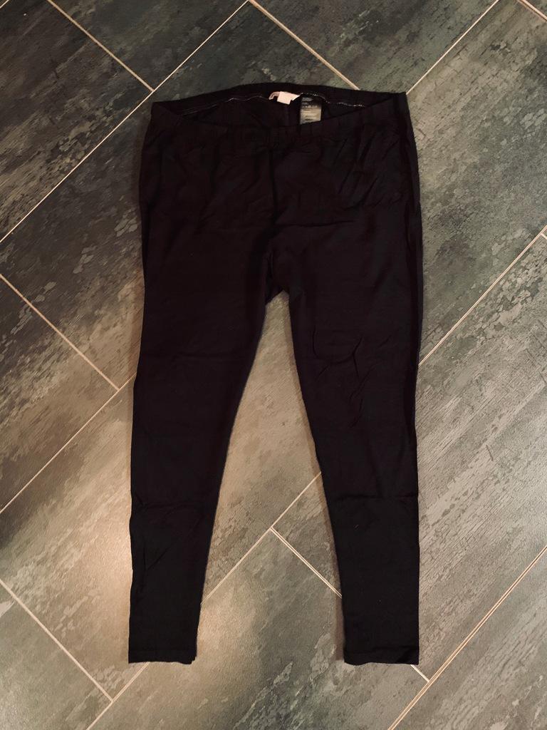 H&M legginsy czarne plus size XXL