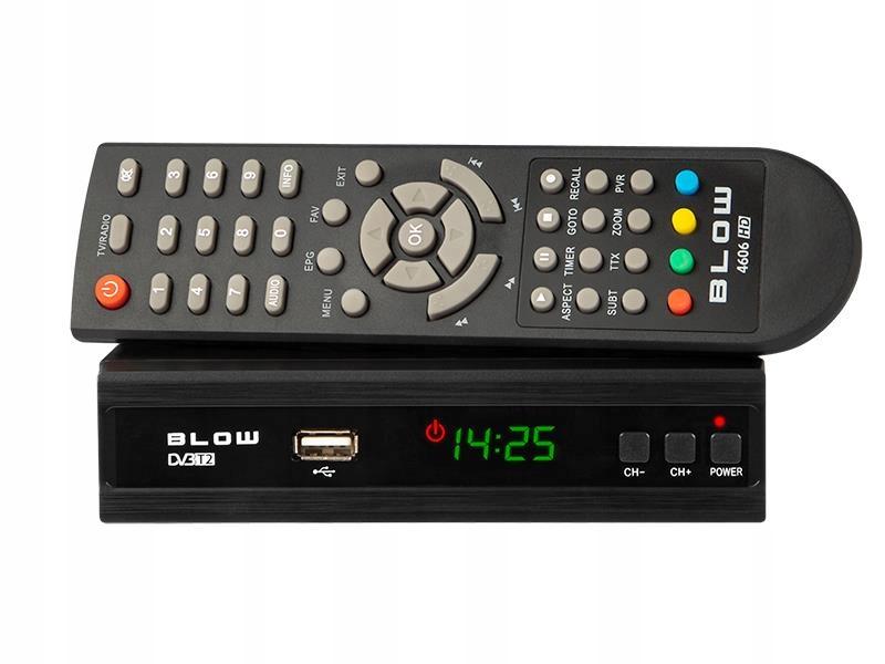 TUNER DVB-T DVBT-2 DEKODER CYFROWY TV +NAGRYWANIE