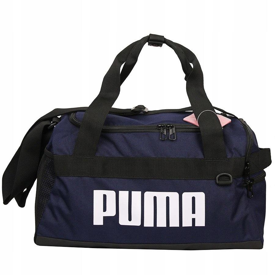 Torba Puma Challanger Duffel 076619 02 granat