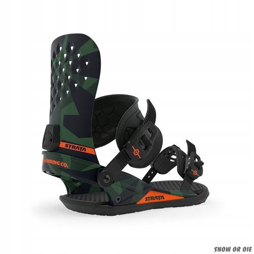 Wiązania snowboardowe Union Strata 2020 camo L