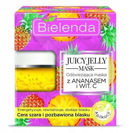 Bielenda Juicy Jelly Maska Odśweżająca Ananas 50g