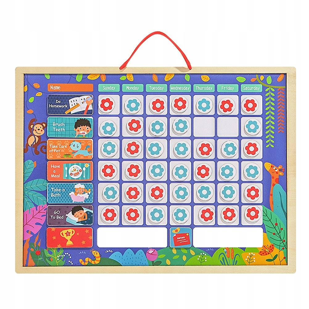 1pc standardowy nagrodę wykres do domu dla dzieci