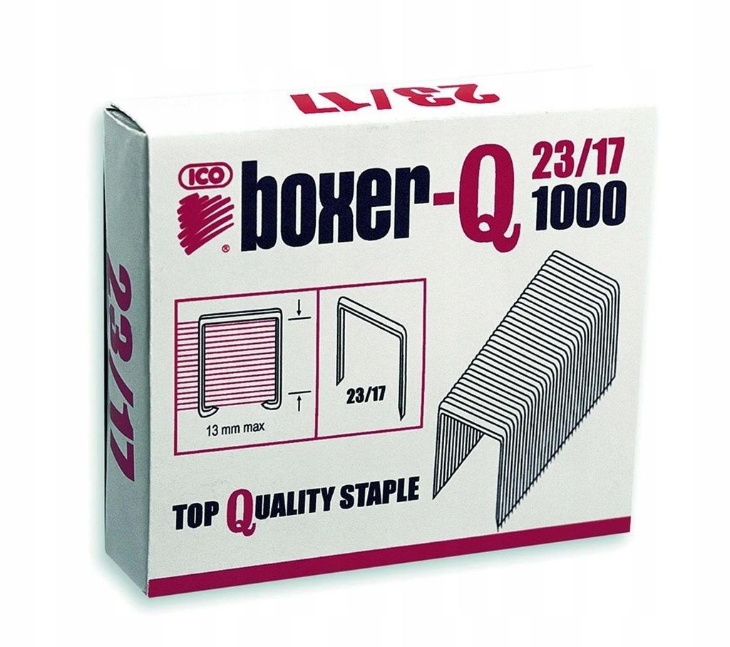 Zszywki ICO Boxer 23/17, 1000szt. do 140 kartek