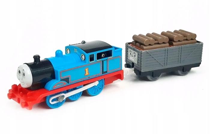 TRACKMASTER Tomek i Nieznośny Wagon z drewnem