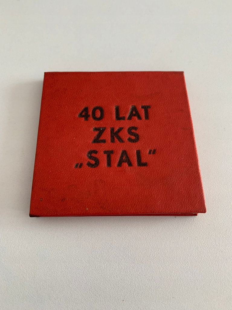 ZKS STAL STALOWA WOLA 40 LAT MEDAL