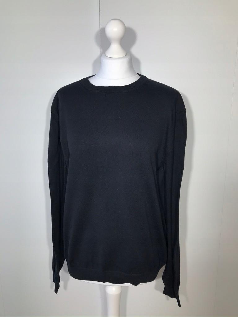 Sweter męski LUCIANO XL 56 czarny