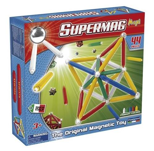 Klocki Magnetyczne Supermag Maxi Classic 44 El 7629007211 Oficjalne Archiwum Allegro