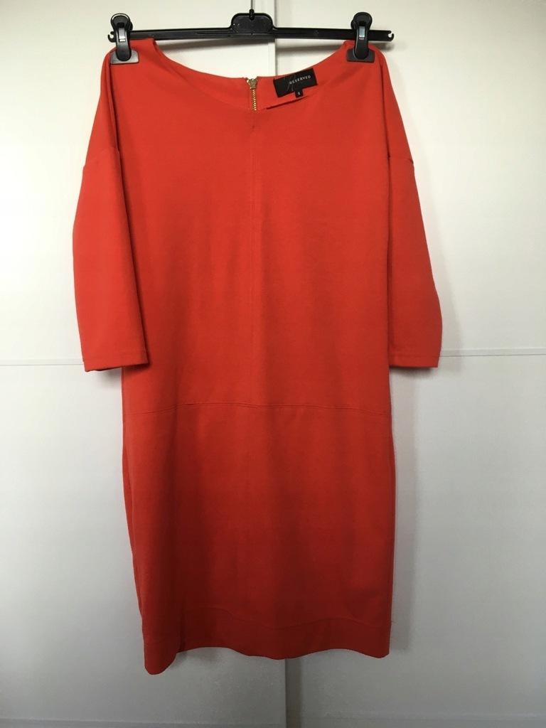 Sukienka damska Reserved rozm S pomarańczowa