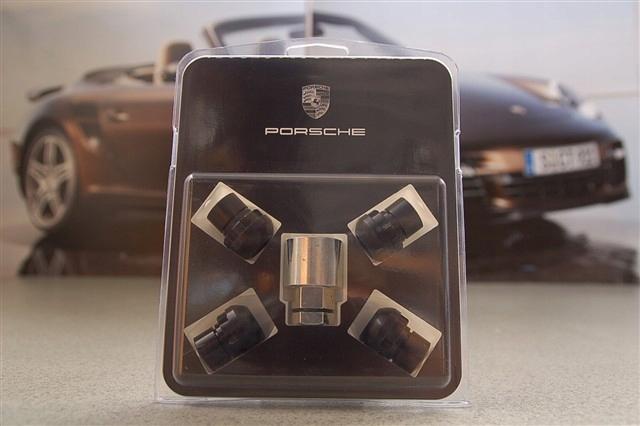 Nakrętki kół przeciwkradzieżowe Porsche 911 964